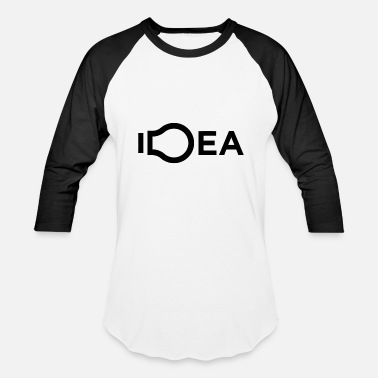 No Idea Idea - Baseball T-Shirt