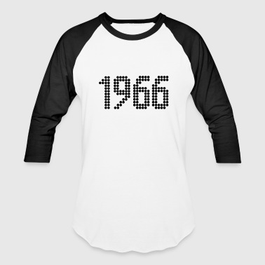 1966, Numbers, Year, Year Of Birth - Baseball T-Shirt