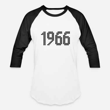 Year Of Birth 1966, Numbers, Year, Year Of Birth - Baseball T-Shirt