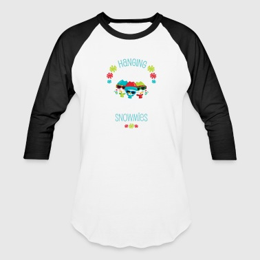Grade Teacher Student Winter Christmas Fifth Grade Snowmies Holiday Gift - Baseball T-Shirt