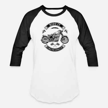 Motorcycle ride_it_k - Baseball T-Shirt
