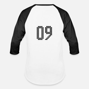 Number 09 09, Numbers, Football Numbers, Jersey Numbers - Baseball T-Shirt