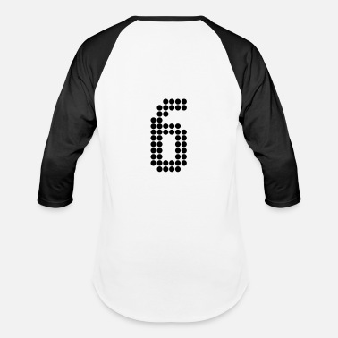 Jersey Number 6, Numbers, Football Numbers, Jersey Numbers - Baseball T-Shirt