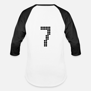 Jersey Numbers 7, Numbers, Football Numbers, Jersey Numbers - Baseball T-Shirt
