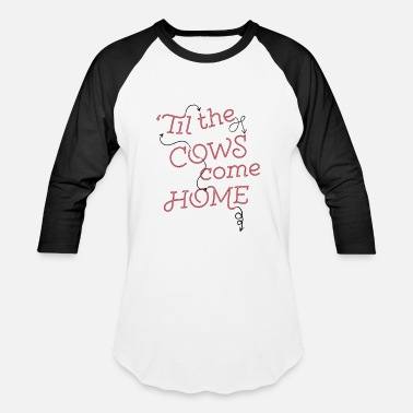 Southern til the cows come home - Baseball T-Shirt