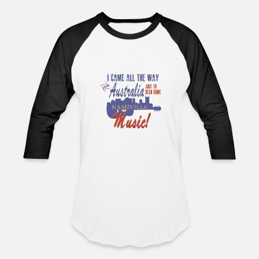 Souvenir Nashville from Australia - Baseball T-Shirt