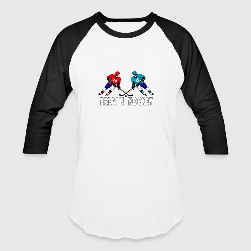 Fighting hockey players - Baseball T-Shirt