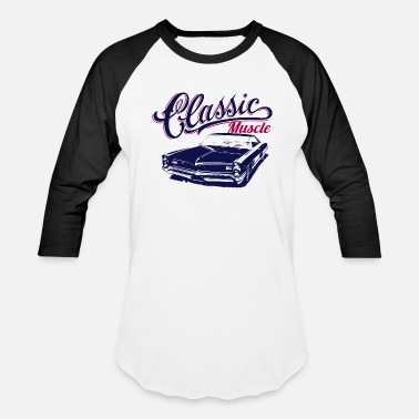 Muscle muscle car design - Baseball T-Shirt