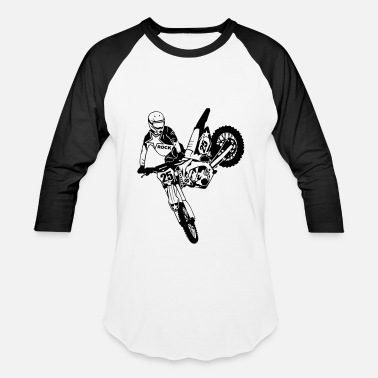 Supercross Moto Cross - Supercross - Baseball T-Shirt
