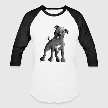 Staffordshire Bull Terrier - Baseball T-Shirt