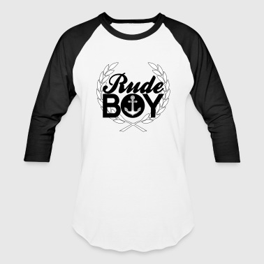 Rude Boy rude boy - Baseball T-Shirt