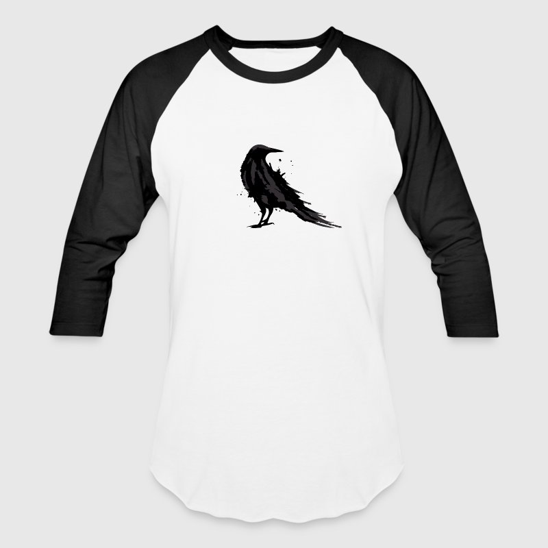 A black raven - Baseball T-Shirt