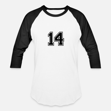 Number 14 14 - Baseball T-Shirt