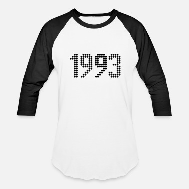 1993 Year 1993, Numbers, Year, Year Of Birth - Baseball T-Shirt