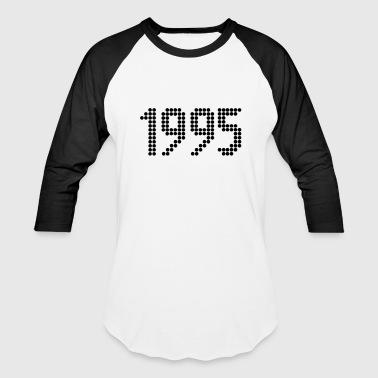 1995, Numbers, Year, Year Of Birth - Baseball T-Shirt