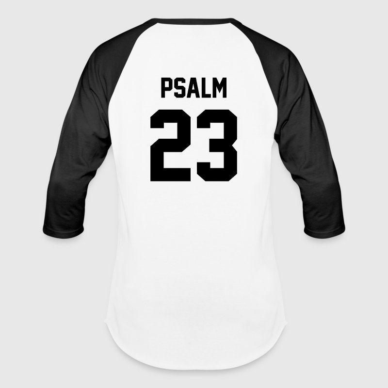 Psalm 23 - Baseball T-Shirt