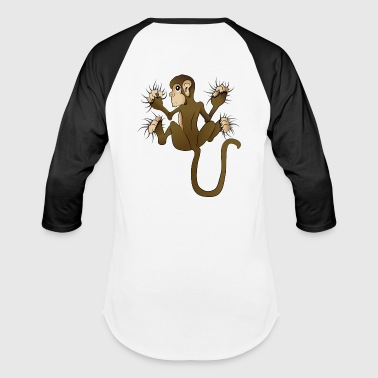 Got a Monkey on my Back - Baseball T-Shirt