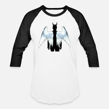 Lucifer Wings Lucifer - Unisex Baseball T-Shirt