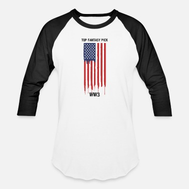 Ww3 Top Fantasy Pick WW3 - Baseball T-Shirt