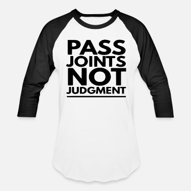 Hemp Pass Joints | Marijuana Cannabis 420 Weed Stoner - Unisex Baseball T-Shirt