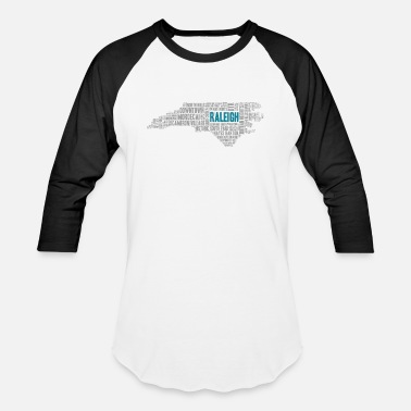 Raleigh Word Art Apparel   North Carolina Apparel Men's T-Shirt