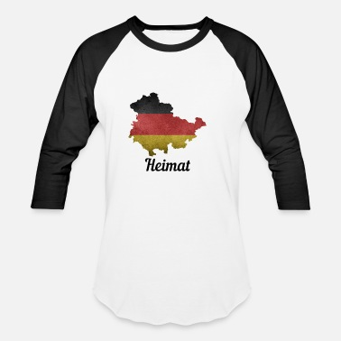 Erfurt Thuringia Germany home - Baseball T-Shirt