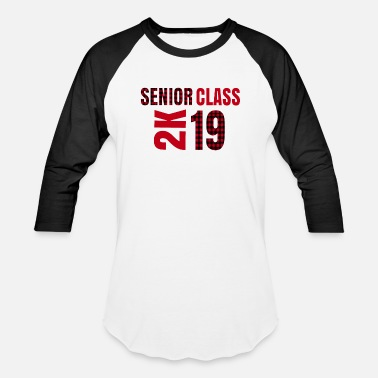 Plaid Senior Class 2K Trendy Buffalo Plaid Graduate 2019 - Baseball T-Shirt