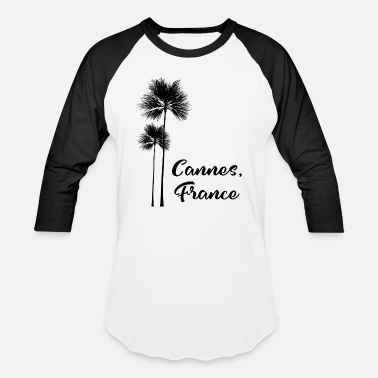 Cannes Film Festival Cannes France Holiday Gift for Film Festival Buffs - Baseball T-Shirt