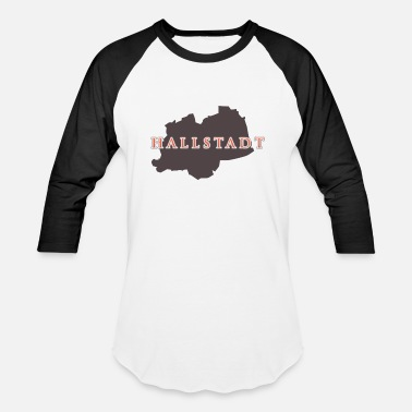 Unesco Hallstatt - Austria Land of Sisi and the Alps Tee - Unisex Baseball T-Shirt