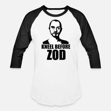 Kneel Before KNEEL BEFORE ZOD - Baseball T-Shirt