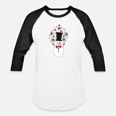 Frosty Cute Funny Snowman Frosty Christmas Xmas - Baseball T-Shirt