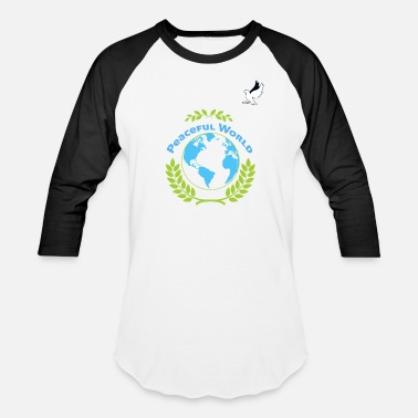 Global Peace Global Peace - Unisex Baseball T-Shirt