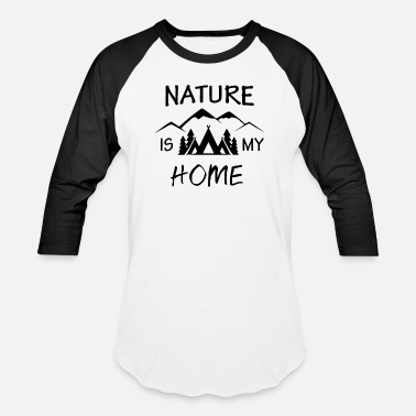 My Home MY HOME IS - Baseball T-Shirt