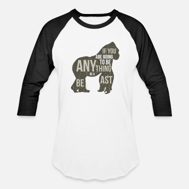 Gorilla The Beast Gorilla Beast - Baseball T-Shirt