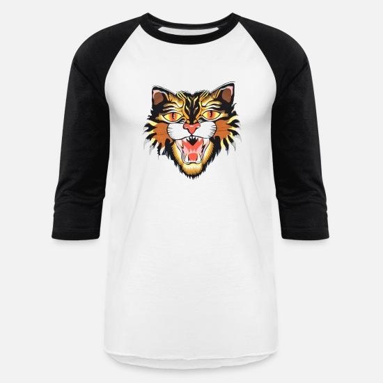 a498cbfa0 Swag T-Shirts - Gucci Cat - Unisex Baseball T-Shirt white/black