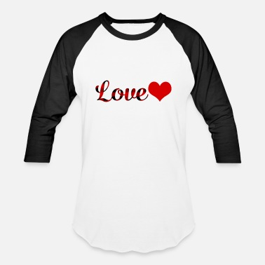 Saint Valentine S Day Love Buffalo Plaid Valentines Day Heart Saint - Unisex Baseball T-Shirt