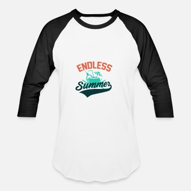 Endless Endless Summer - Unisex Baseball T-Shirt