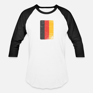 Germany Germany. Germany flag. Love Germany. - Unisex Baseball T-Shirt