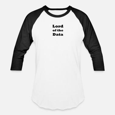 Lord Commander Lord of the Data - Baseball T-Shirt