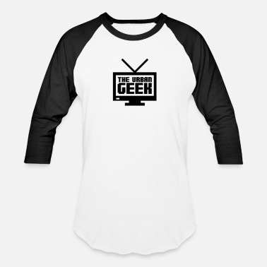 Streetwear Brands THEUG TV - Baseball T-Shirt