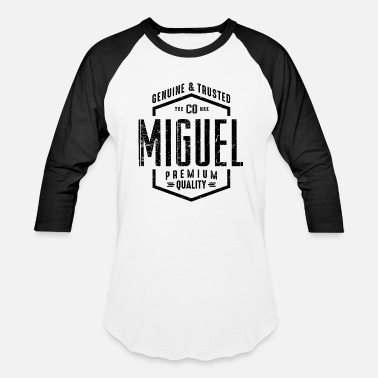 Miguel MIGUEL - Unisex Baseball T-Shirt