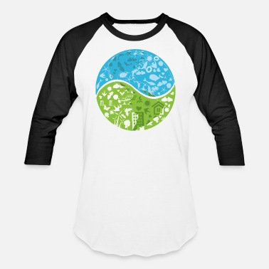 Ecofriendly Ecofriendly - Unisex Baseball T-Shirt