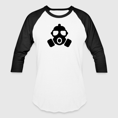GAS MASK - Baseball T-Shirt
