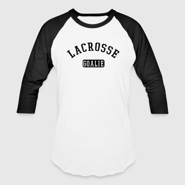 lacrosse goalie - Baseball T-Shirt