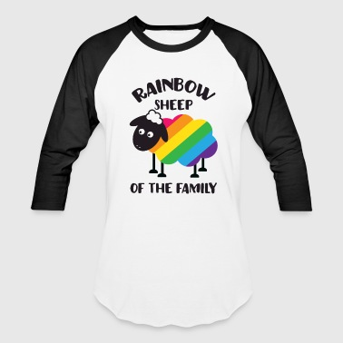 Rainbow Sheep Of The Family LGBT Pride - Baseball T-Shirt