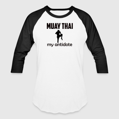 muay_thai design - Baseball T-Shirt