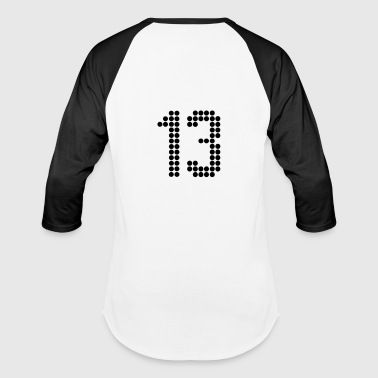 13, Numbers, Football Numbers, Jersey Numbers - Baseball T-Shirt