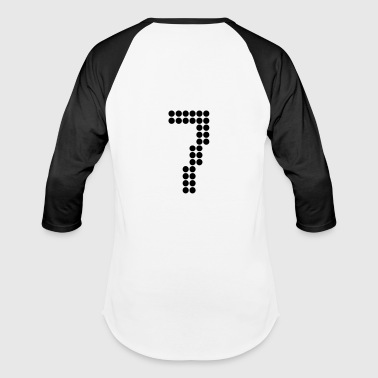 7, Numbers, Football Numbers, Jersey Numbers - Baseball T-Shirt