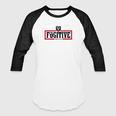 FUGITIVE 2927 RED WHITE BLACK - Baseball T-Shirt
