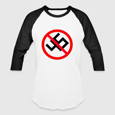 anti nazi - Baseball T-Shirt